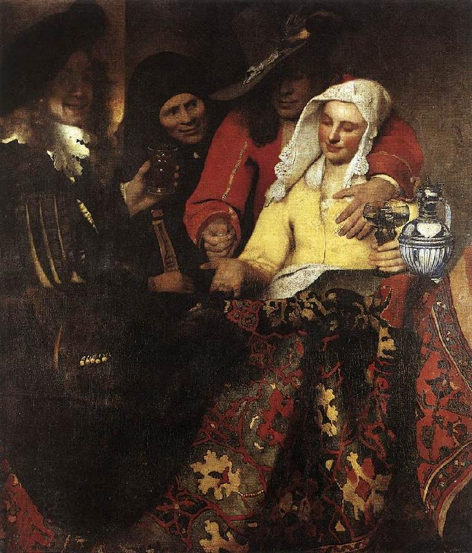 Jan Vermeer The Procuress
