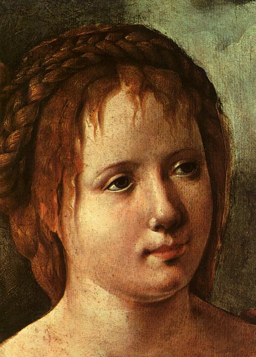 Jan van Scorel Head of a Young Girl oil painting picture