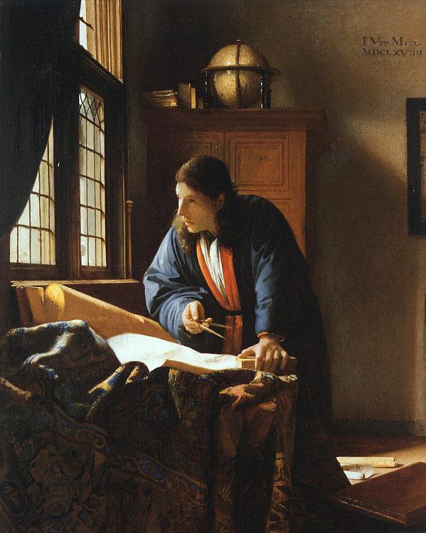 JanVermeer The Geographer