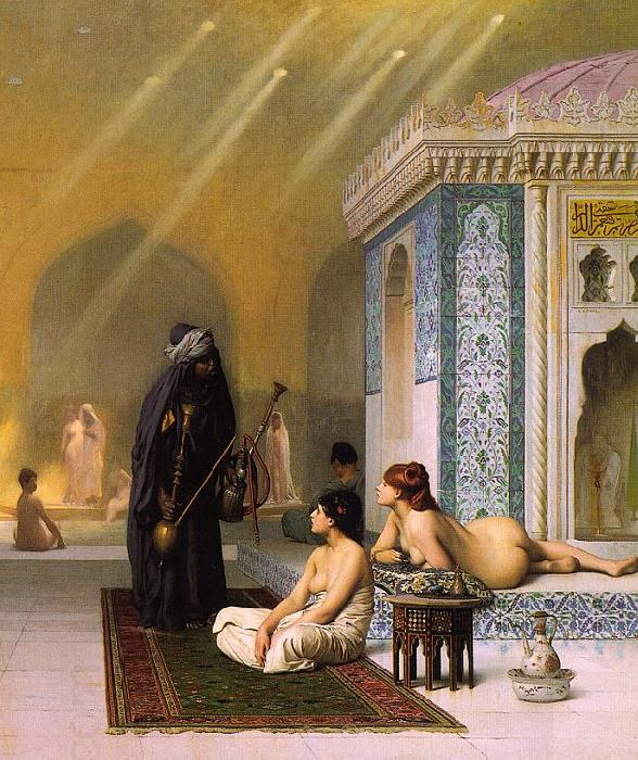 Jean Leon Gerome Harem Pool
