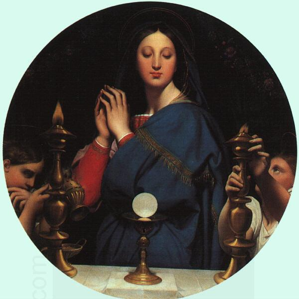 Jean-Auguste Dominique Ingres The Virgin with the Host