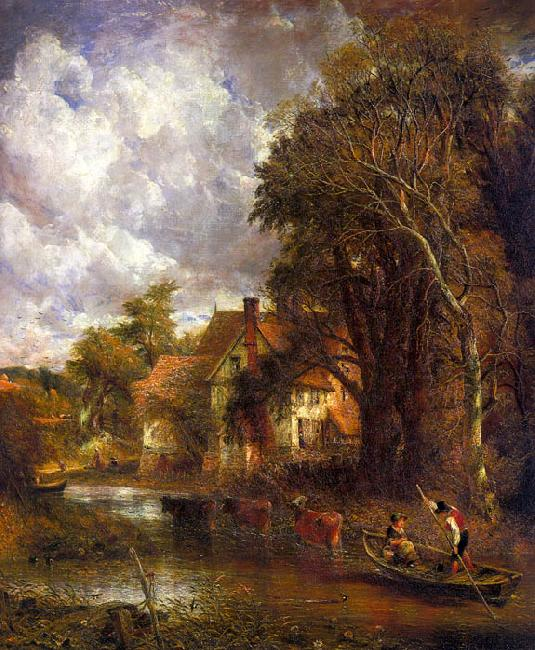 John Constable The Valley Farm oil painting picture