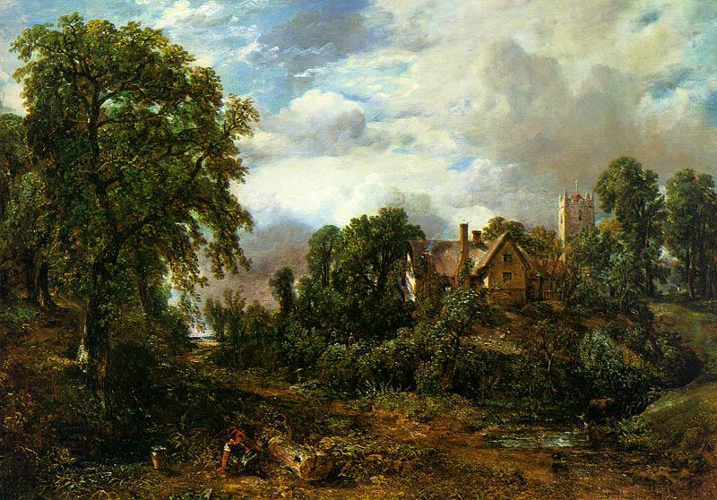 John Constable The Glebe Farm oil painting picture