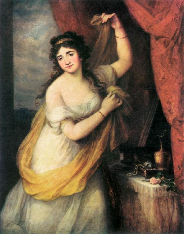 KAUFFMANN, Angelica Portrait of a Woman oil painting picture