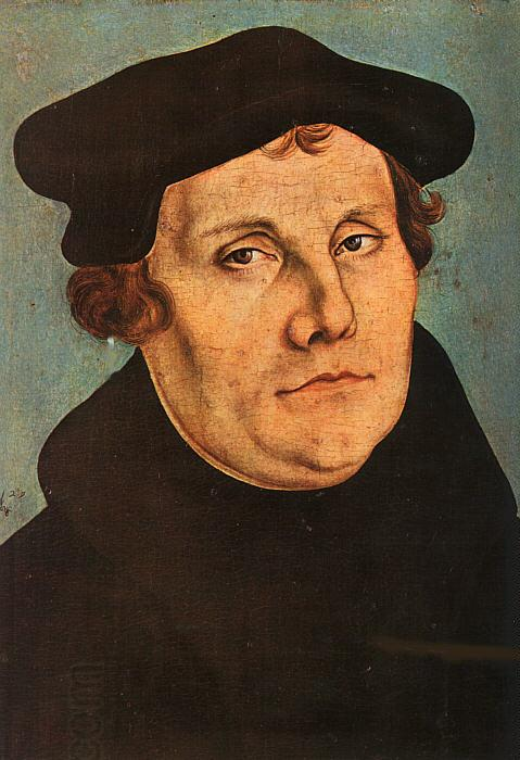 Lucas  Cranach Portrait of Martin Luther China oil painting art
