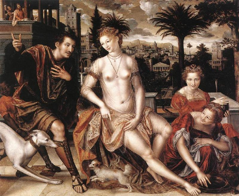 MASSYS, Jan David and Bathsheba sg oil painting picture