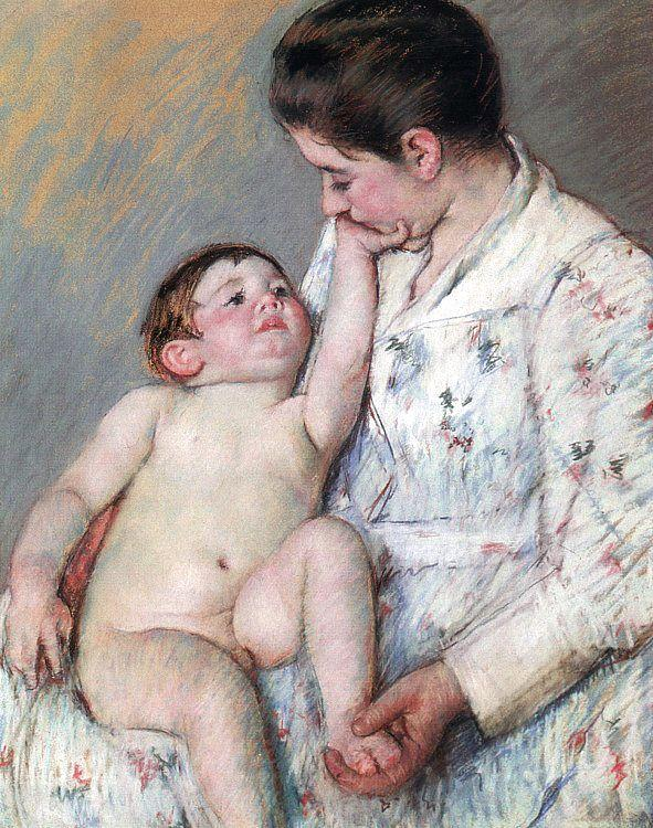Mary Cassatt The Caress