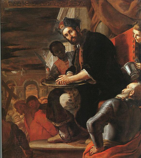 Mattia Preti Pilate Washing his Hands oil painting picture