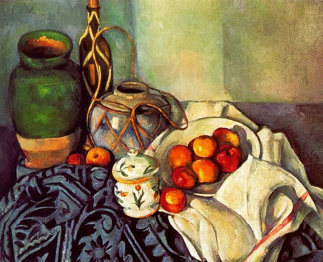 Paul Cezanne Still Life oil painting picture