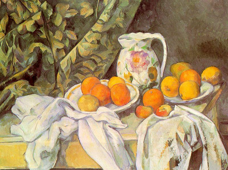 Paul Cezanne Still Life with Drapery