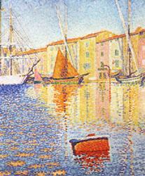 Paul Signac The Red Buoy China oil painting art