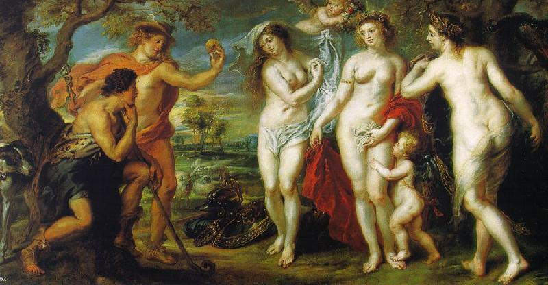 Peter Paul Rubens The Judgment of Paris