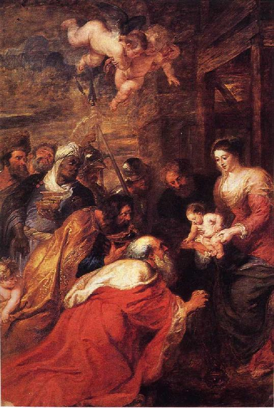 Peter Paul Rubens Adoration of the Magi oil painting picture