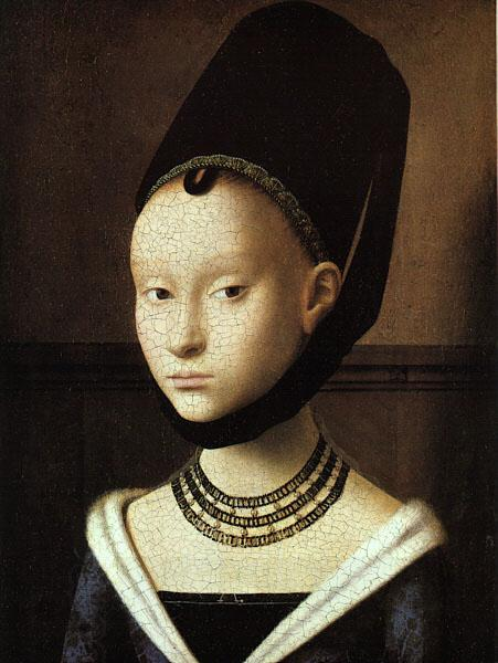 Petrus Christus Portrait of a Young Woman China oil painting art