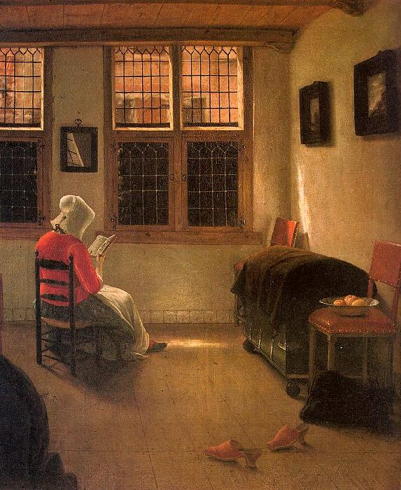 Pieter Janssens Elinga Woman Reading_l