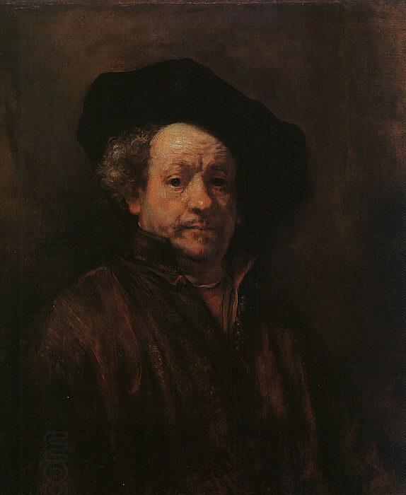 Rembrandt Self Portrait oil painting picture