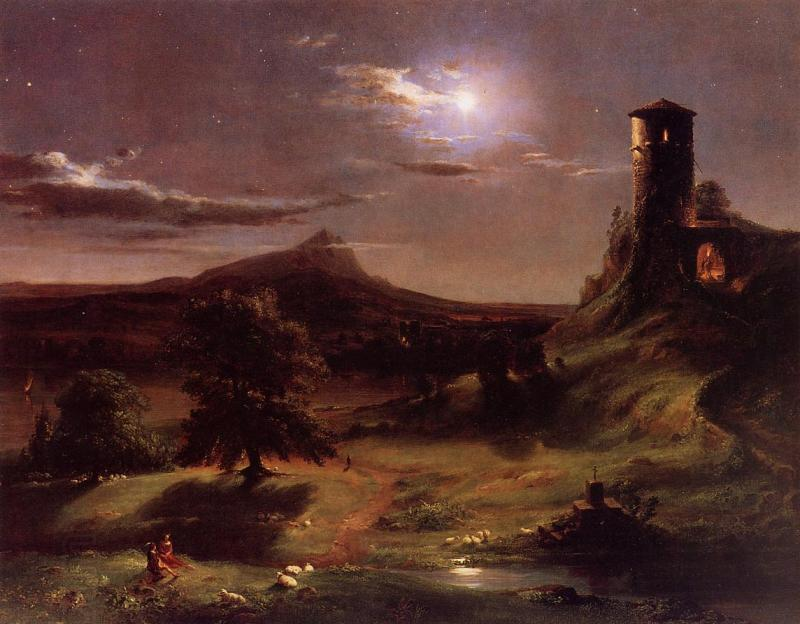 Thomas Cole Moonlight