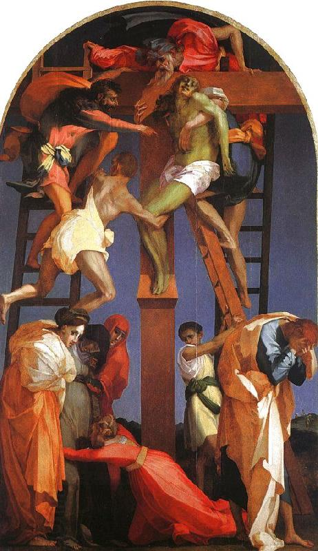 Rosso Fiorentino Deposition from the Cross