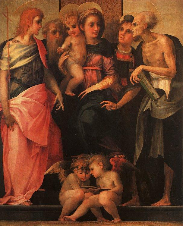 Rosso Fiorentino Madonna and Child with Saints oil painting picture