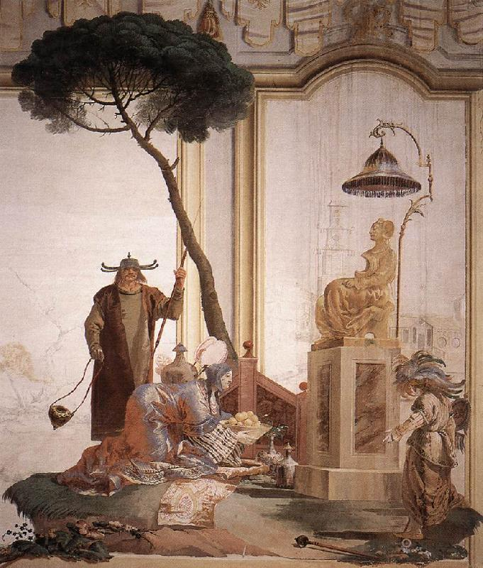 TIEPOLO, Giovanni Domenico Offering of Fruits to Moon Goddess nmoih