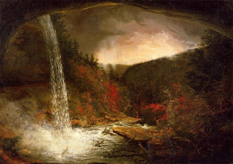 Thomas Cole Kaaterskill Falls s oil painting picture