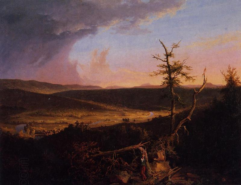 Thomas Cole View on Schoharie