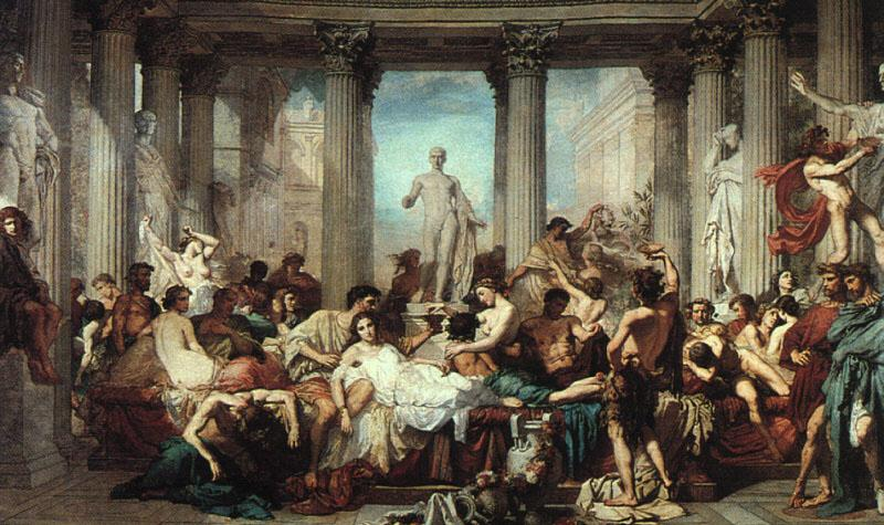 Thomas Couture The Romans of the Decadence