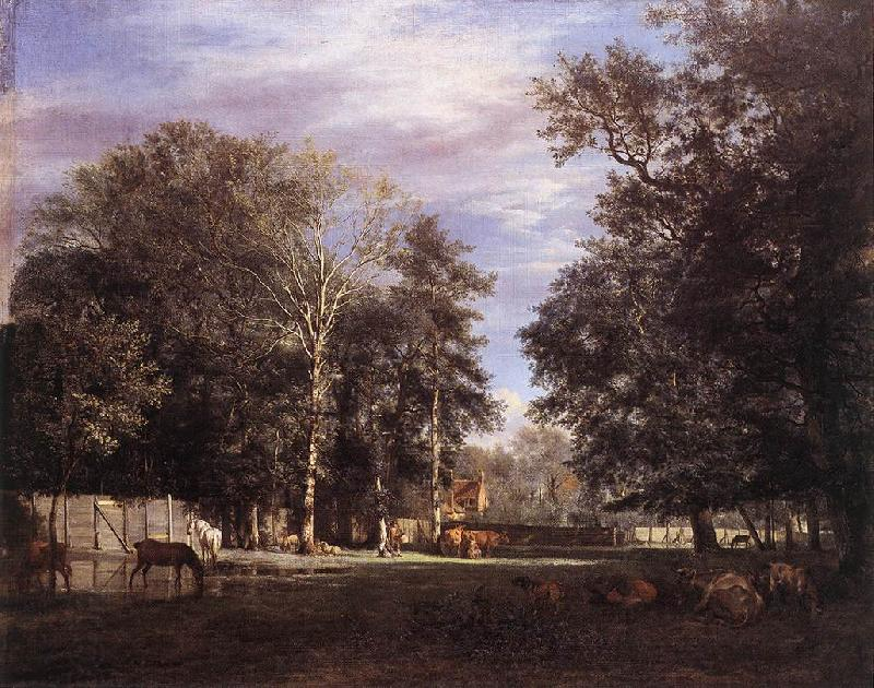 VELDE, Adriaen van de The Farm er
