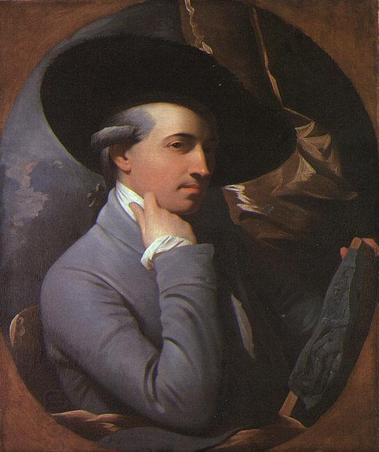WEST, Benjamin Self-Portrait oil painting picture