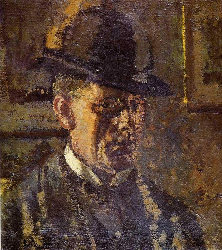 Walter Sickert The Juvenile Lead oil painting picture