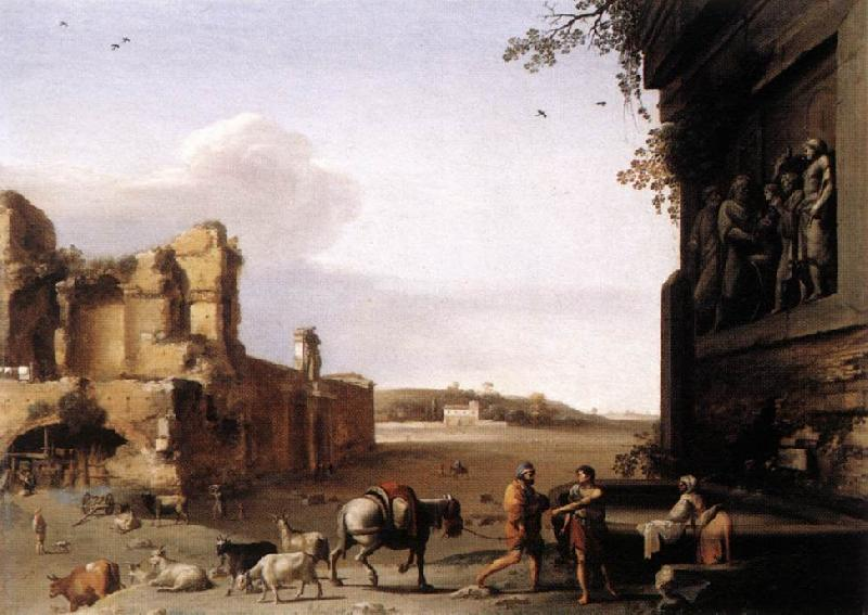 POELENBURGH, Cornelis van Ruins of Ancient Rome af