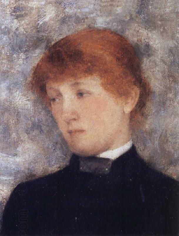 Fernand Khnopff Portrait of A Woman oil painting picture