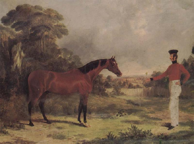 John Frederick Herring The Man and horse China oil painting art