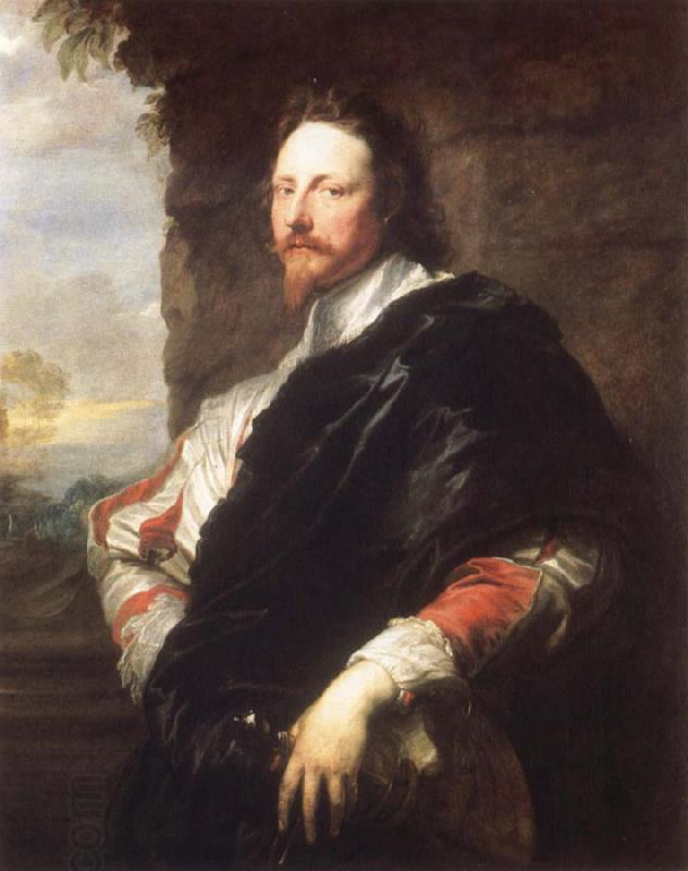 Anthony Van Dyck Nicholas Lanier oil painting picture
