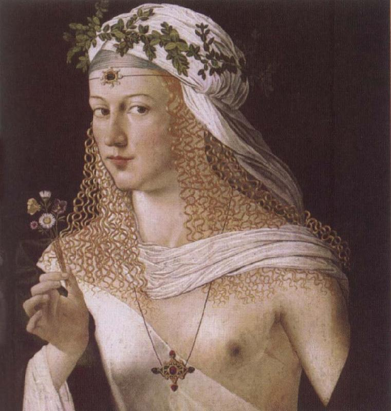 BARTOLOMEO VENETO Portrait of a Woman oil painting picture