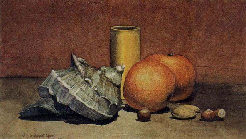 Hirst, Claude Raguet Seashell,Oranges and Nuts