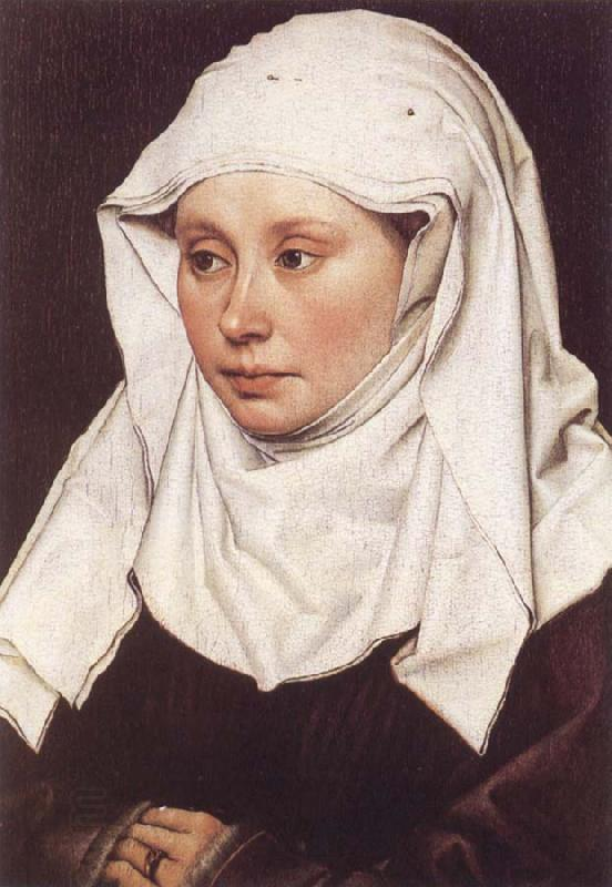 Robert Campin A Woman oil painting picture