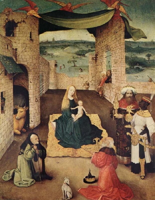 BOSCH, Hieronymus Adoration of the Magi oil painting picture