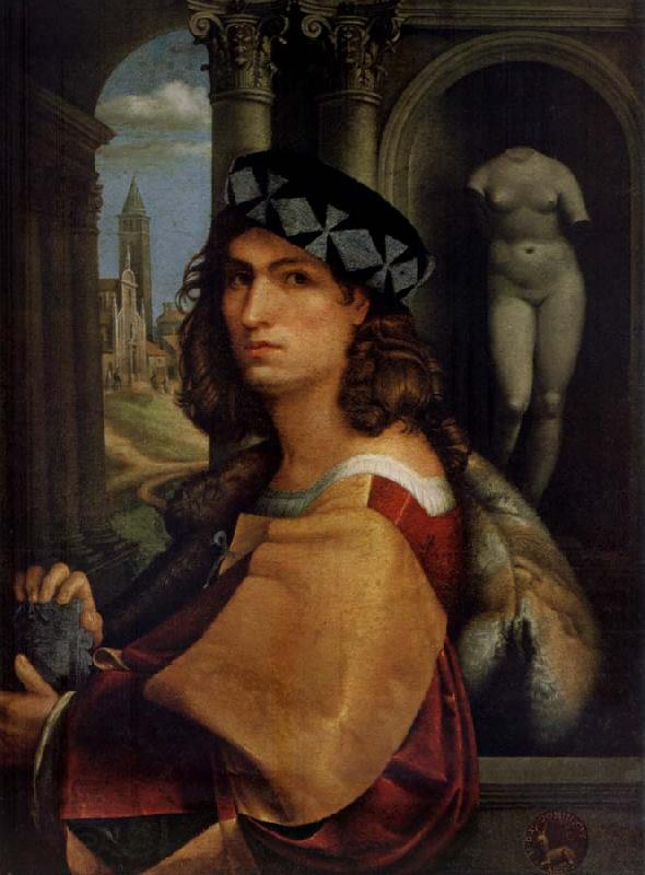 CAPRIOLO, Domenico Portrait of a man oil painting picture