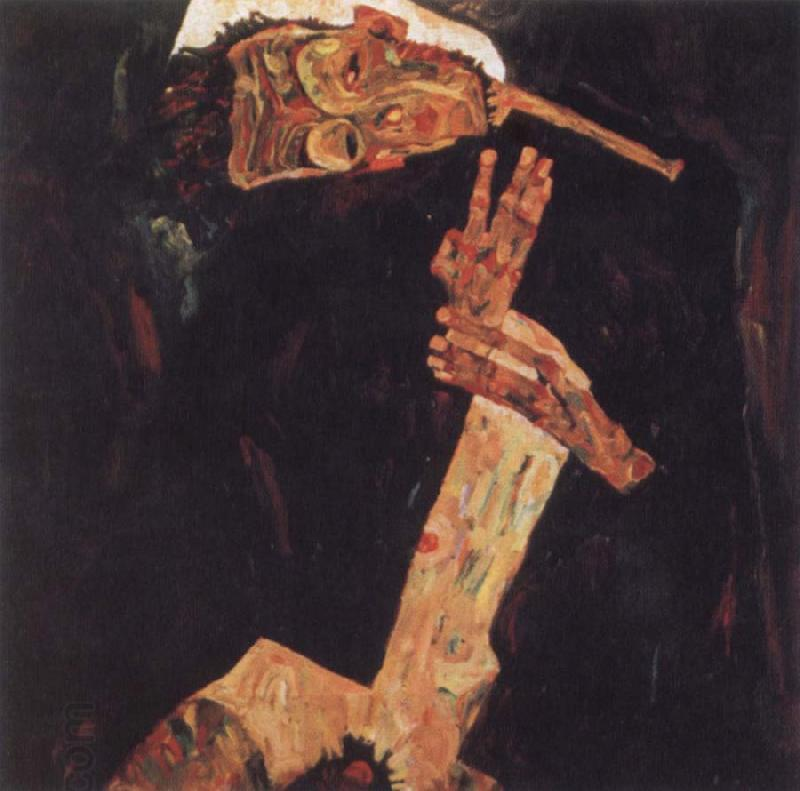 Egon Schiele The Poet oil painting picture