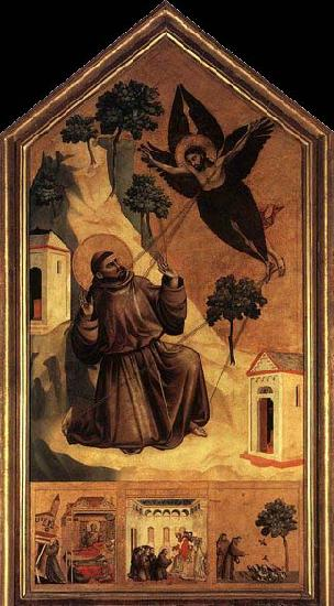 GIOTTO di Bondone Stigmatization of St Francis oil painting picture