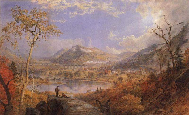 Jasper Cropsey Starrucca-Viadukt China oil painting art