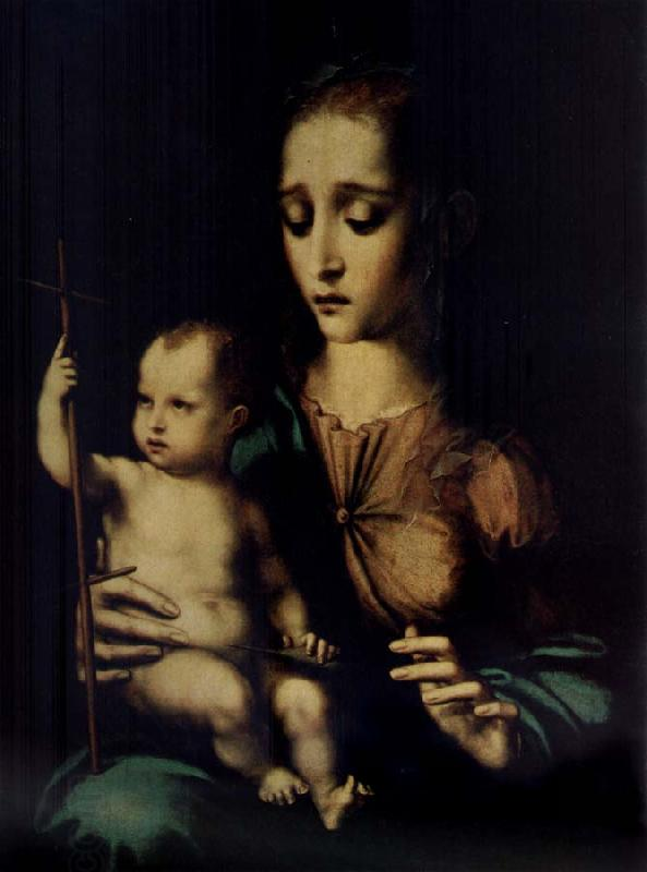 MORALES, Luis de Madonna and Child oil painting picture