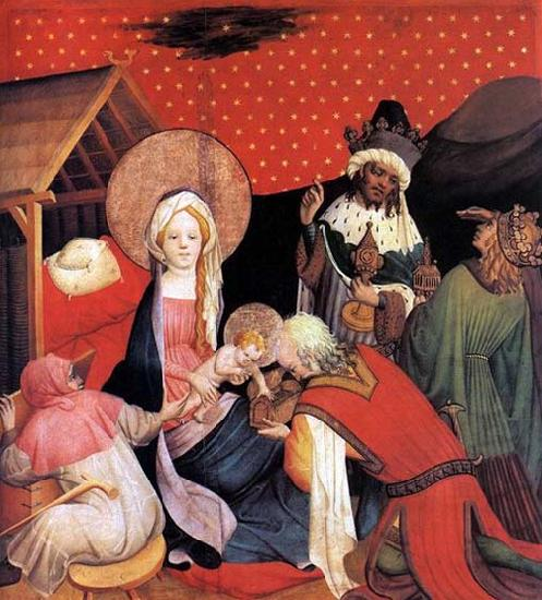 Master Francke Adoration of the Magi oil painting picture