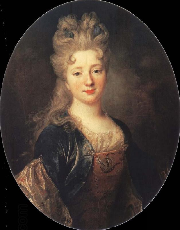 Nicolas de Largilliere Portrait of a Lady oil painting picture