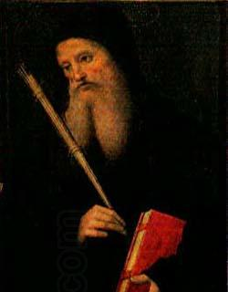 PERUGINO, Pietro Saint Benedict China oil painting art