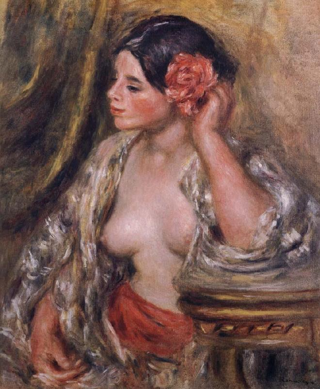 Pierre-Auguste Renoir Gabrielle a Sa Coiffure China oil painting art