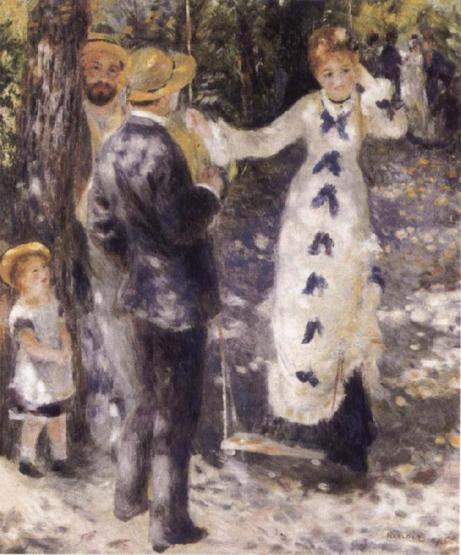 Pierre-Auguste Renoir The Swing oil painting picture