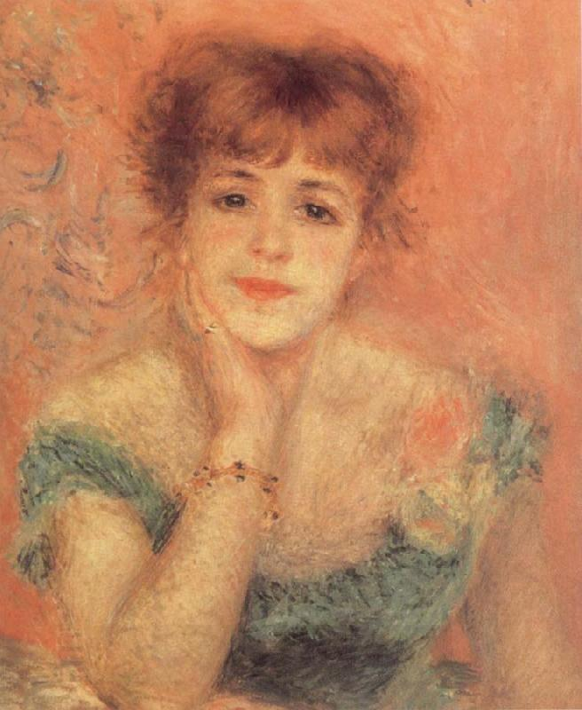 Pierre-Auguste Renoir Portrait of t he Actress Jeanne Samary