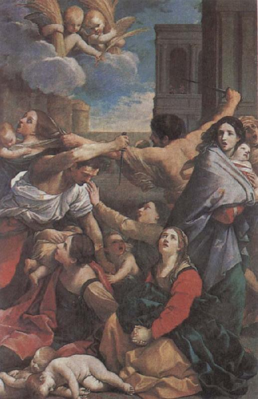 RENI, Guido The Massacre of the Innocents China oil painting art